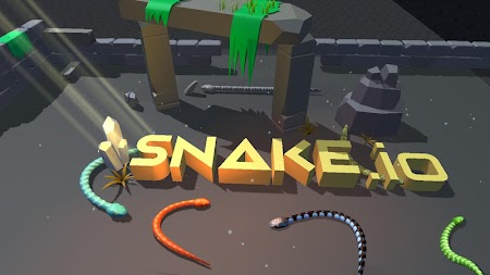 3D Snake.io 2019 APK screenshot thumbnail 8
