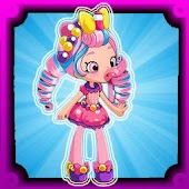 Bubbleisha skater shopkins