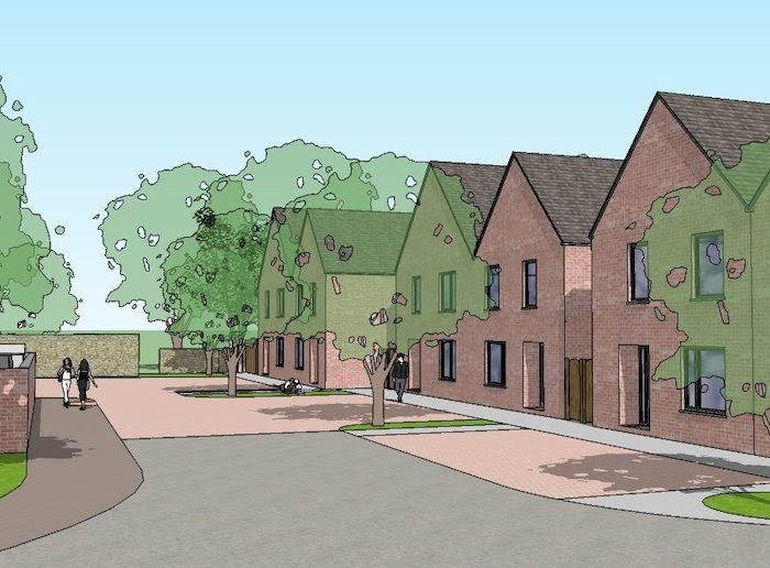Plans for 22 council homes in Llanidloes