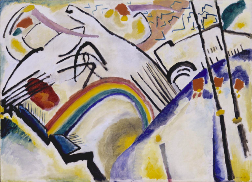 Wassily Kandinsky (1866-1944) Cosaques (Cossacks)