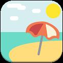 Fondos de Playas - Personaliza tu pantalla icon