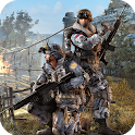 3D sniper shooting:  Army Sniper cover fire icon