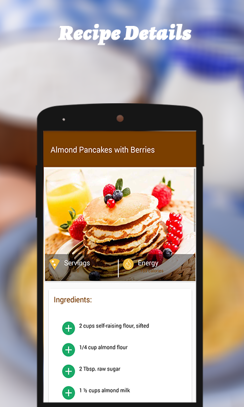 Pancake Recipes- screenshot