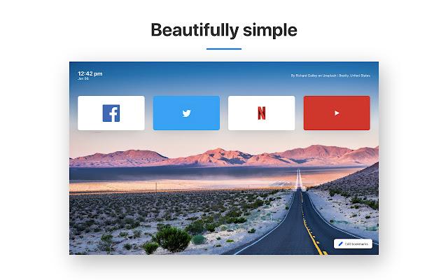 New Tab Page - Podac