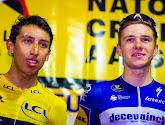 """Egan Bernal wenst Evenepoel het beste: """"We weten dat Remco een geweldige renner is, hij is één van de besten"""""""