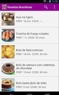Receitas Brasileiras - náhled