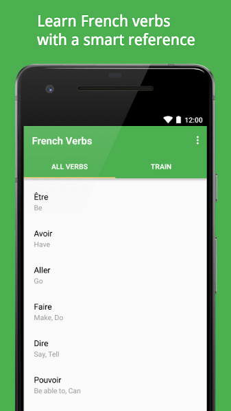 Verbmaster: French Verb Conjugator and Trainer