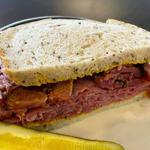 #54 Hot Pastrami & Corned Beef (Full Sandwich)