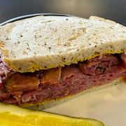 #54 Hot Pastrami & Corned Beef (Full Sandwich)