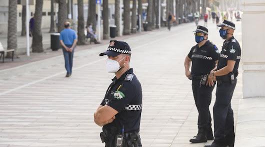 Fin de semana: 33 denuncias por no usar mascarilla y no acatar el toque de queda