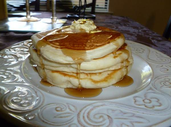 Buttermilk Vanilla Pancakes Recipe