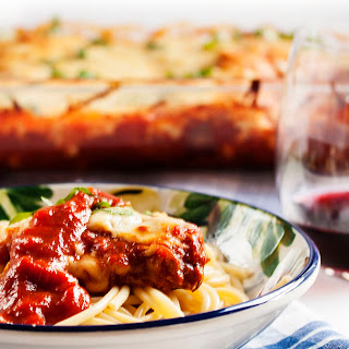 Get the Girl Chicken Parmesan Casserole