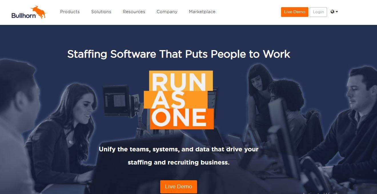 Application Tracking Software - Bullhorn