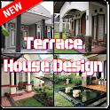 Terrace Modern House Design icon