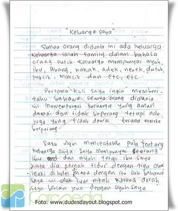 Contoh Karangan Essay Tentang Lingkungan Sekolah