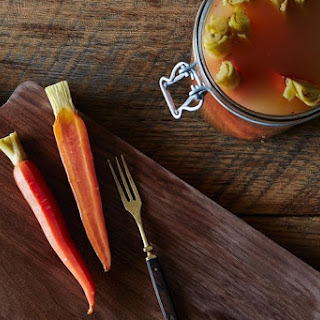 Five-Spice Pickled Carrots.