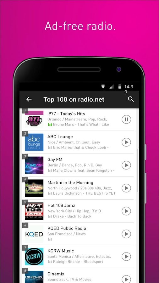 radio.net PRIME- screenshot