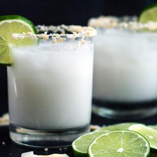 Skinny Coconut Margarita.