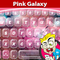A.I. Type Pink Galaxy א icon