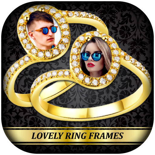 Lovely Ring Photo Frames : Wedding Photo Ring