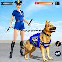 US Police Dog Crime Chase Shooting Games icon