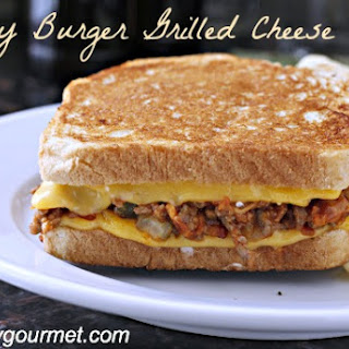 Sloppy Burger Grilled Cheese.