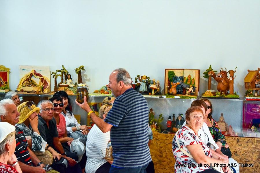 Музей марципанов в Кфар-Тавор. Экскурсия по Израилю.