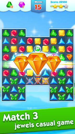 Jewel Crush screenshot 1