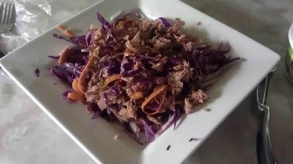 Tuna And Purple Cabbage Delish Recipe