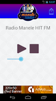 Screenshot of manele Radio