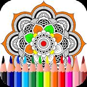 Coloring Book for Mandala 2017