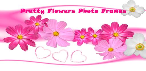 Pretty flowers photo frames apps on google play mightylinksfo