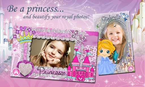 Princess Fairytale Photo Frame