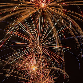 Belmont 4th of July by Mike Watts - Public Holidays July 4th ( 2016, fireworks, 4th july, belmont )