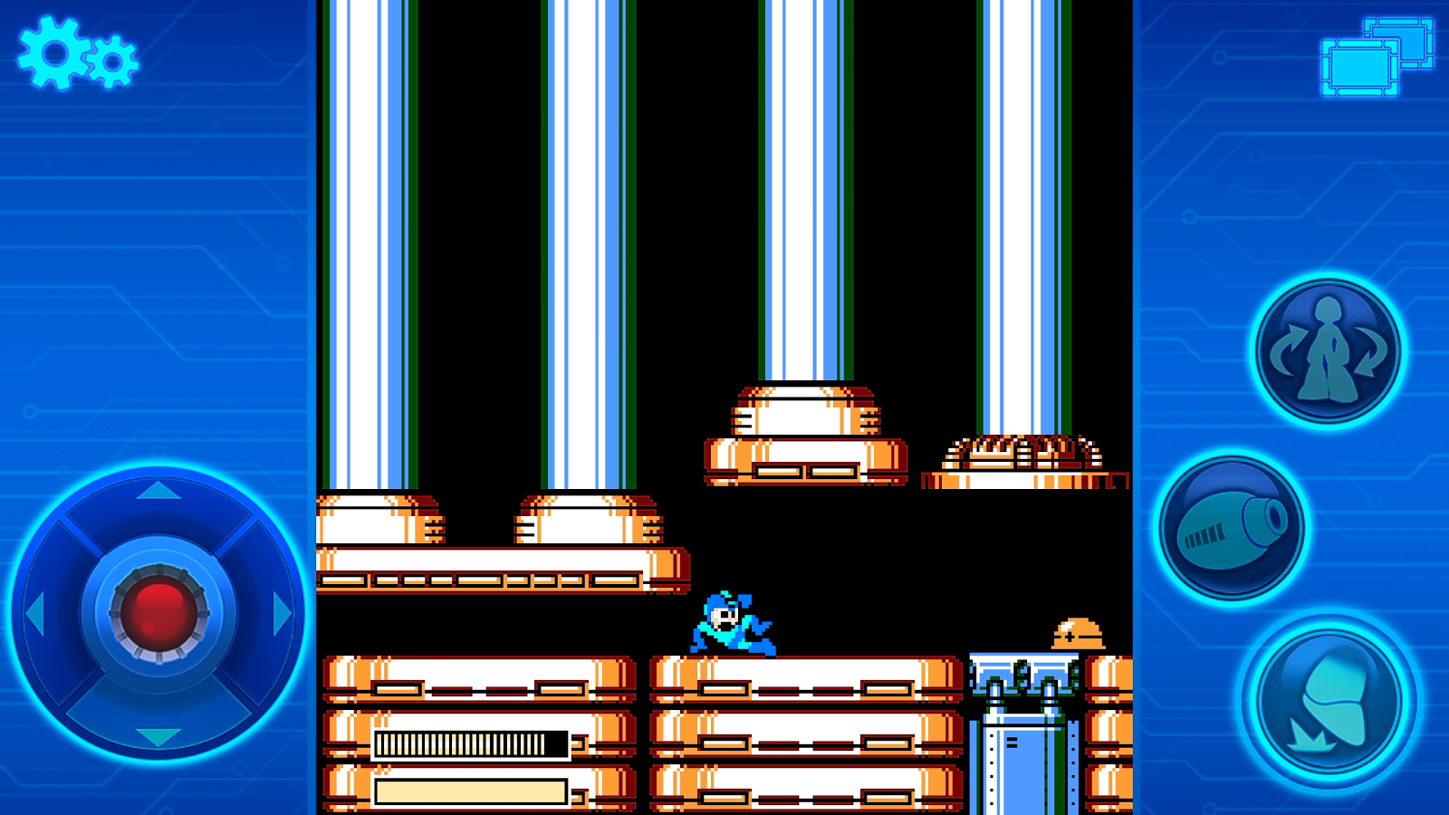 MEGA MAN 4 MOBILE- screenshot