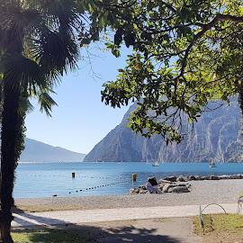 landscape of Garda lake by Patrizia Emiliani - Instagram & Mobile Android ( garda lake, landscape,  )