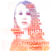 Typo Effect-Fonts Photo Editor