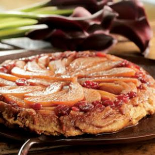 Pear, Apple & Cranberry Tarte Tatin