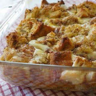 Apple Cinnamon French Toast Casserole.
