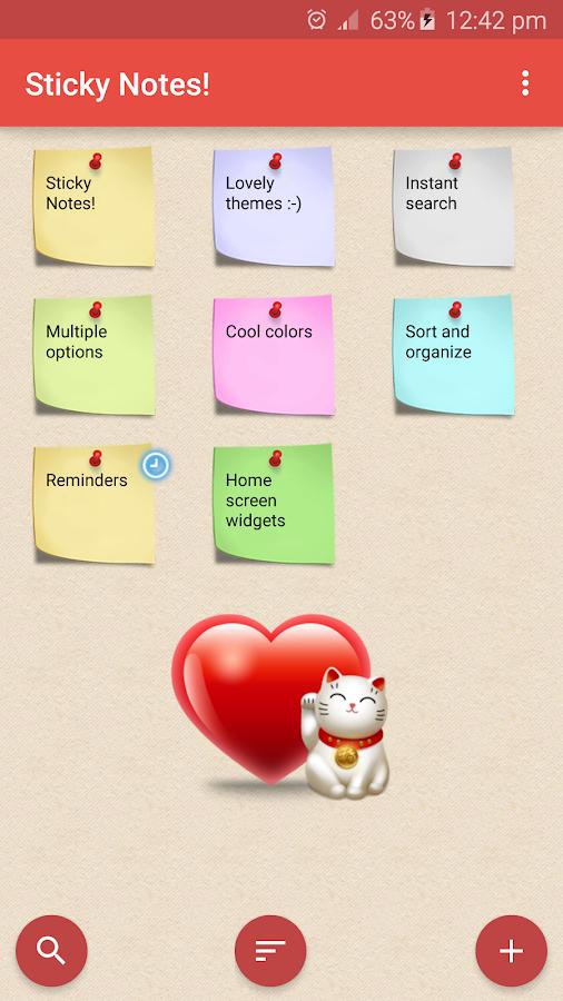 Sticky Notes !- screenshot