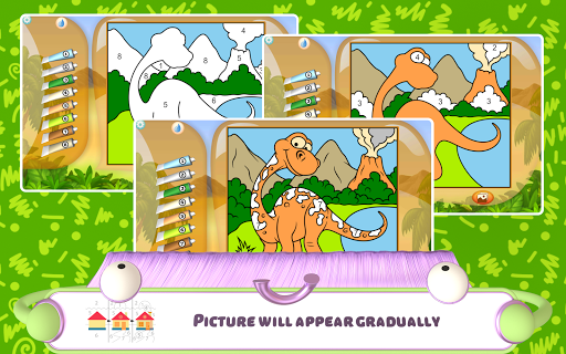 Paint by Numbers - Dinosaurs 2.2 screenshots 13