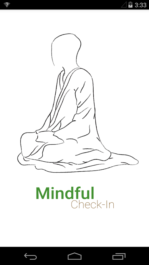 Mindful Check-In- screenshot
