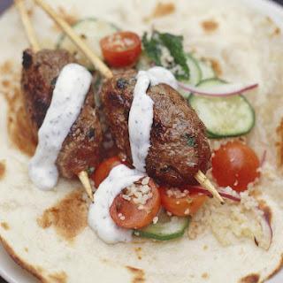 Beef Kofta With Mint Yogurt Recipes