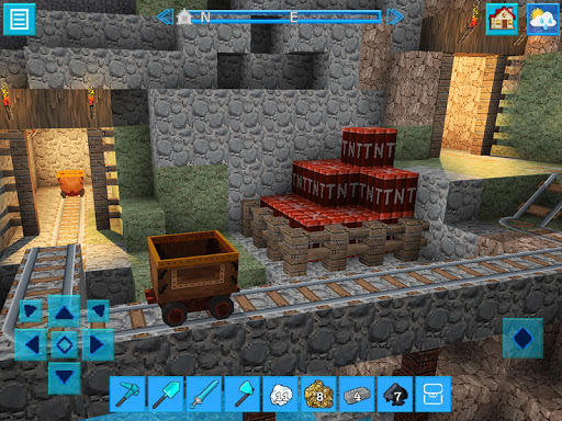 DinoCraft Survive & Craft Pocket Edition  screenshots 2