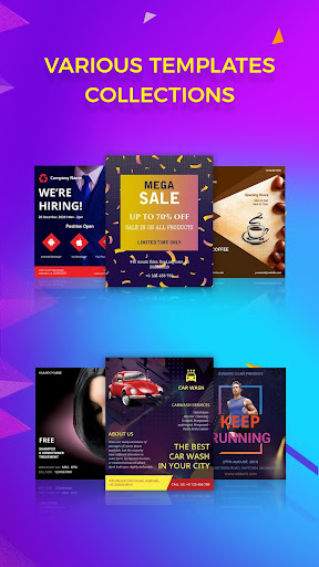 android applications flyer maker poster creator card designer pro
