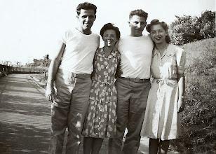 Photo: Leo Sternbach, Ida Tous, Harold Sternbach, and Catherine Leibsohn