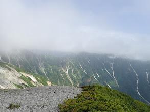 赤沢岳・鳴沢岳方面