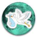 Lunar Calendar.Moment of Birth icon