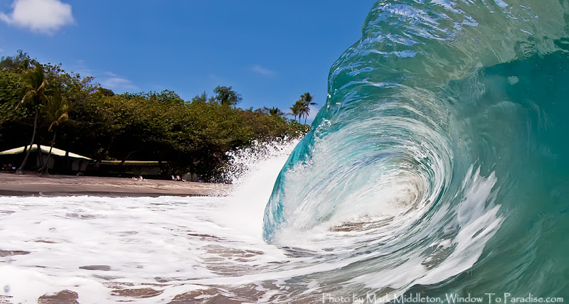 Photo: Hamoa Beach Shorebreak ... talk about FUN!!!   :)