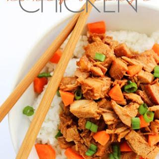 Slow Cooker Honey Orange Chicken.